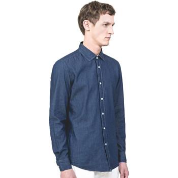 Textil Muži Košile s dlouhymi rukávy Antony Morato MMSL00520 FA440019 Modrý