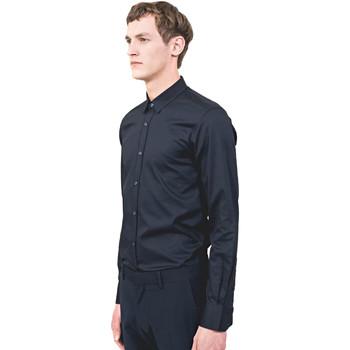 Textil Muži Košile s dlouhymi rukávy Antony Morato MMSL00525 FA440012 Modrý