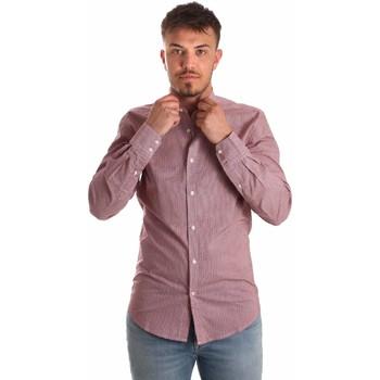 Textil Muži Košile s dlouhymi rukávy Antony Morato MMSL00526 FA430360 Červené