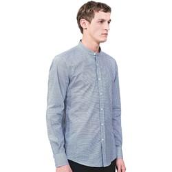 Textil Muži Košile s dlouhymi rukávy Antony Morato MMSL00526 FA430360 Modrý