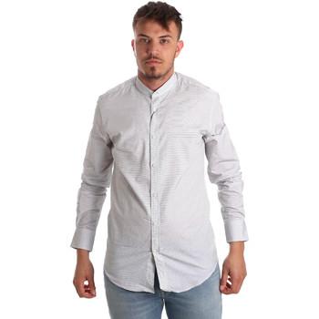 Textil Muži Košile s dlouhymi rukávy Antony Morato MMSL00526 FA440024 Bílý