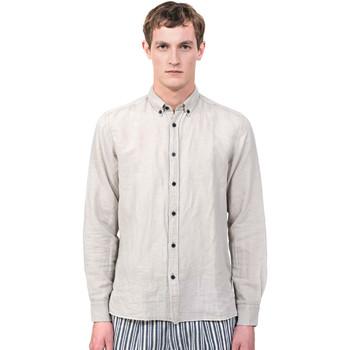 Textil Muži Košile s dlouhymi rukávy Antony Morato MMSL00530 FA400051 Šedá