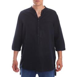 Textil Muži Košile s dlouhymi rukávy Antony Morato MMSL00531 FA400051 Modrý