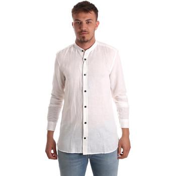 Textil Muži Košile s dlouhymi rukávy Antony Morato MMSL00547 FA400051 Bílý