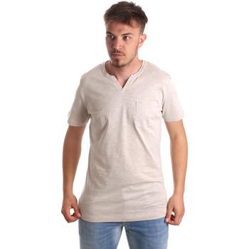 Textil Muži Trička s krátkým rukávem Antony Morato MMKS01487 FA100139 Béžový