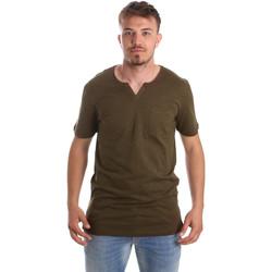 Textil Muži Trička s krátkým rukávem Antony Morato MMKS01487 FA100139 Zelený