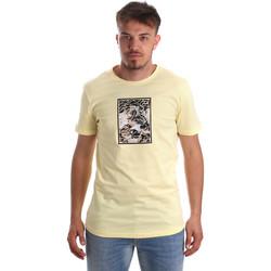Textil Muži Trička s krátkým rukávem Antony Morato MMKS01551 FA100144 Žlutá