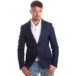 Textil Muži Saka / Blejzry Antony Morato MMJA00388 FA400060 Modrý