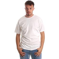 Textil Muži Trička s krátkým rukávem Antony Morato MMKS01564 FA100189 Bílý