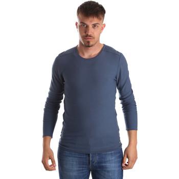 Textil Muži Svetry Gaudi 911FU53013 Modrý