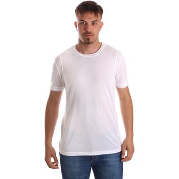 Textil Muži Trička s krátkým rukávem Gaudi 911FU64005 Bílý