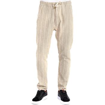 Textil Muži Kalhoty Gaudi 911BU25031 Béžový
