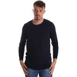 Textil Muži Svetry Gaudi 911BU53010 Modrý
