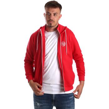 Textil Muži Mikiny Gaudi 911BU64043 Červené