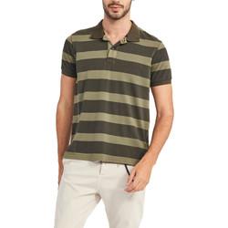 Textil Muži Polo s krátkými rukávy Gaudi 911BU64071 Zelený