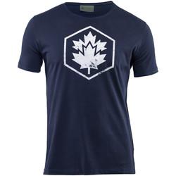 Textil Muži Trička s krátkým rukávem Lumberjack CM60343 002 509 Modrý