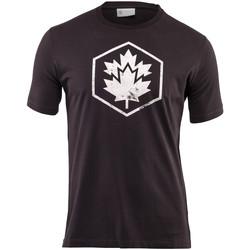 Textil Muži Trička s krátkým rukávem Lumberjack CM60343 001 509 Černá