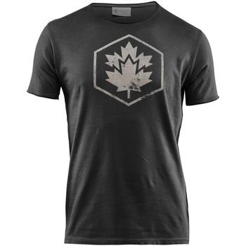 Textil Muži Trička s krátkým rukávem Lumberjack CM60343 002 509 Černá
