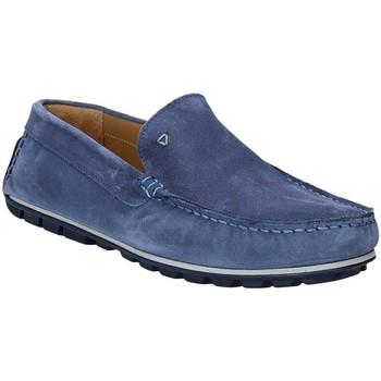 Boty Muži Mokasíny Rogers 701 Modrý