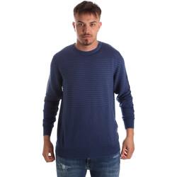 Textil Muži Svetry Navigare NV00196 30 Modrý
