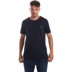 Textil Muži Trička s krátkým rukávem Navigare NV31069 Modrý