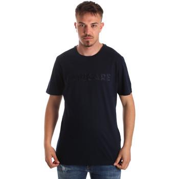 Textil Muži Trička s krátkým rukávem Navigare NV31070 Modrý