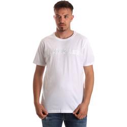 Textil Muži Trička s krátkým rukávem Navigare NV31070 Bílý
