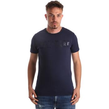 Textil Muži Trička s krátkým rukávem Navigare NV31081 Modrý
