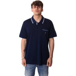 Textil Muži Polo s krátkými rukávy Navigare NV72045AD Modrý