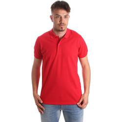 Textil Muži Polo s krátkými rukávy Navigare NV82001 Červené