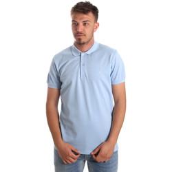 Textil Muži Polo s krátkými rukávy Navigare NV82001AD Modrý