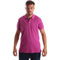 Textil Muži Polo s krátkými rukávy Navigare NV82086 Růžový