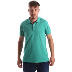 Textil Muži Polo s krátkými rukávy Navigare NV82086 Zelený