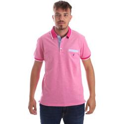 Textil Muži Polo s krátkými rukávy Navigare NV82092 Růžový