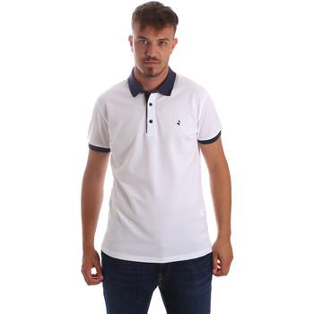 Textil Muži Polo s krátkými rukávy Navigare NV82097 Bílý