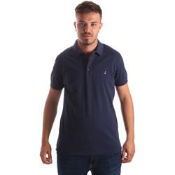 Textil Muži Polo s krátkými rukávy Navigare NV82097AD Modrý