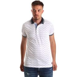 Textil Muži Polo s krátkými rukávy Navigare NV82099 Bílý