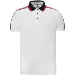 Textil Muži Polo s krátkými rukávy Invicta 4452206/U Bílý
