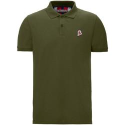 Textil Muži Polo s krátkými rukávy Invicta 4452208/U Zelený