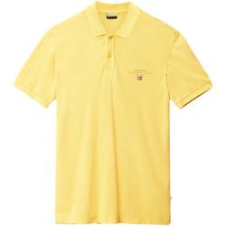 Textil Muži Polo s krátkými rukávy Napapijri N0YIJ5 Žlutá