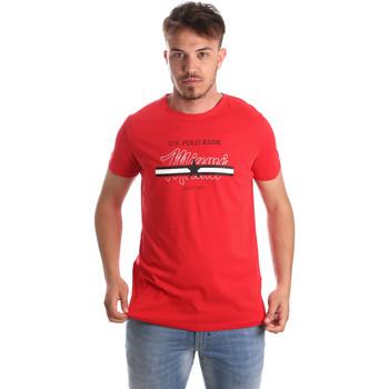 Textil Muži Trička s krátkým rukávem U.S Polo Assn. 51520 51655 Červené