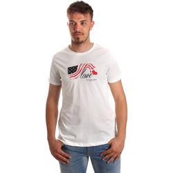 Textil Muži Trička s krátkým rukávem U.S Polo Assn. 51520 51655 Bílý