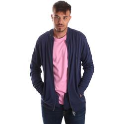Textil Muži Svetry / Svetry se zapínáním U.S Polo Assn. 51727 51433 Modrý
