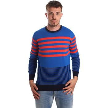Textil Muži Svetry U.S Polo Assn. 51727 51438 Modrý