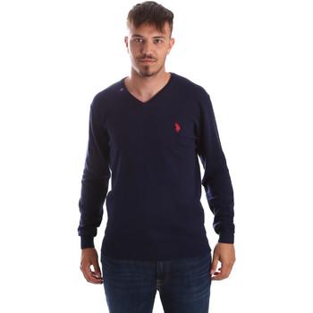 Textil Muži Svetry U.S Polo Assn. 51727 51432 Modrý