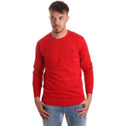 Textil Muži Svetry U.S Polo Assn. 51727 51431 Červené