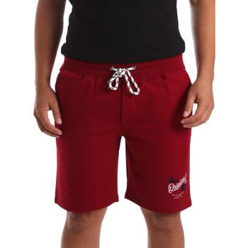 Textil Muži Kraťasy / Bermudy Key Up 2F26I 0001 Červené