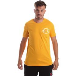 Textil Muži Trička s krátkým rukávem Champion 213251 Žlutá