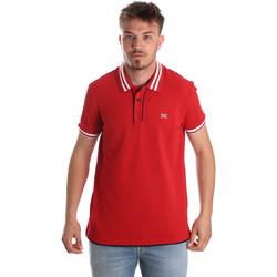 Textil Muži Polo s krátkými rukávy NeroGiardini P972210U Červené