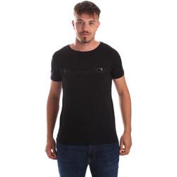 Textil Muži Trička s krátkým rukávem Byblos Blu 2MT0023 TE0048 Černá
